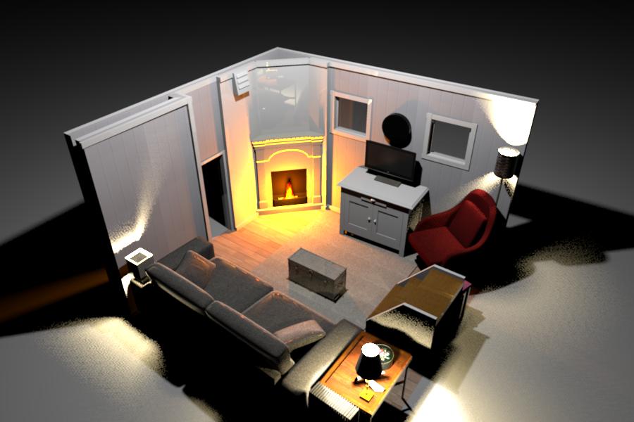 Nautilus Fireplace 5